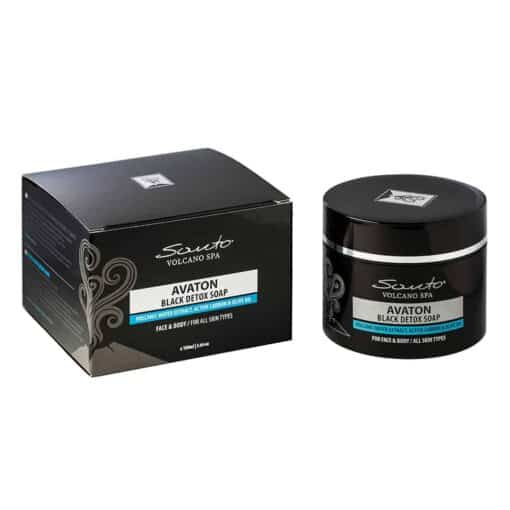 Black Detox Soap - Avaton Atelje Oia