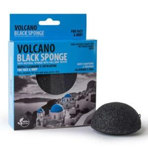 Volcano Black Sponge Mini Atelje Oia